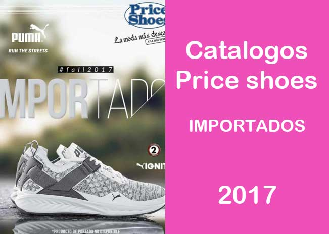 catalogo price shoes importados