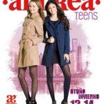 Catalogo de zapatos Andrea teens 2013 2014