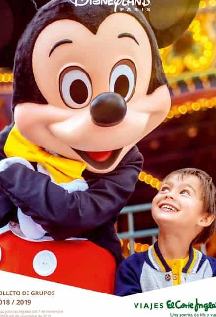 El Corte Ingles Viajes Disney Paris 2019 2020